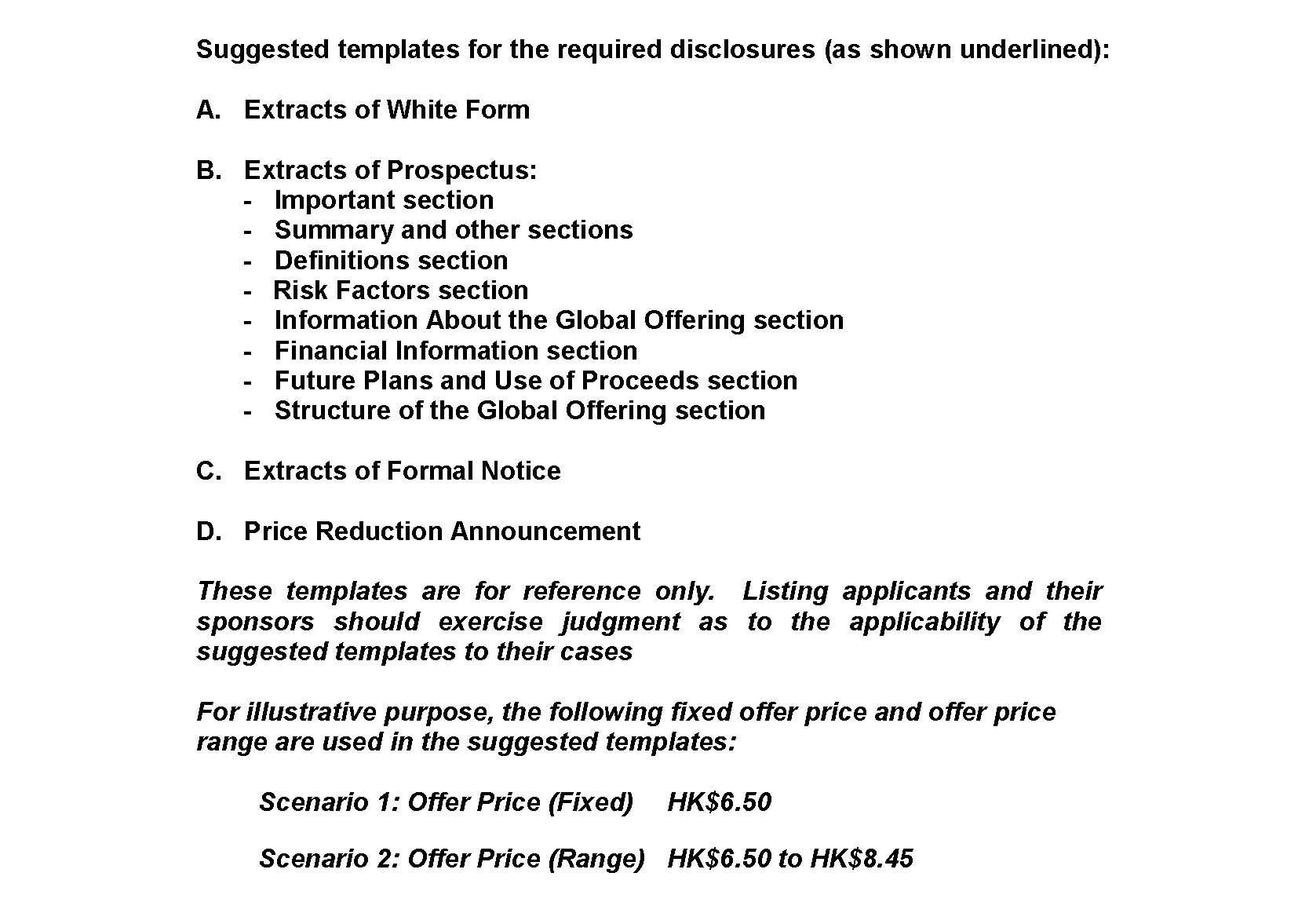 Listing Rules and Guidance - Guidance Letters